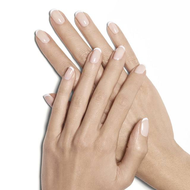 starter wife french manicure