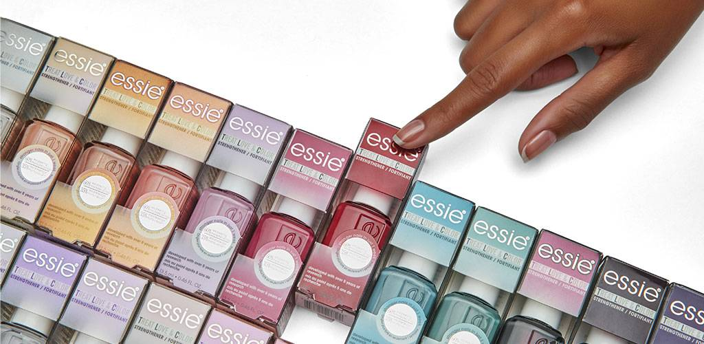essie colour + care